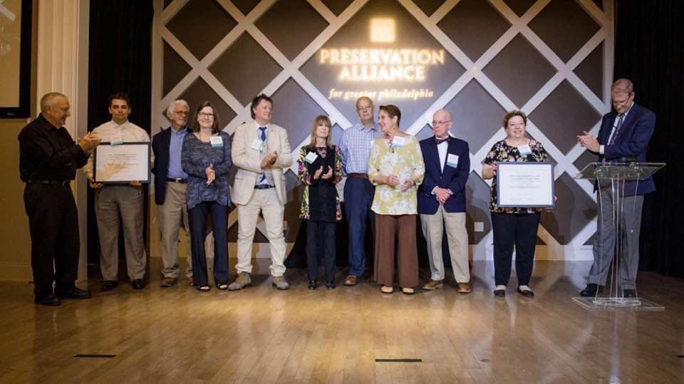 Preservation Alliance honors the Northwest  Coalition of Civics